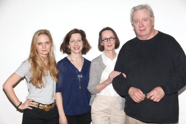 Halley Wegryn, Betsy Aidem, Susan Blommaert and Guy Boyd Photo