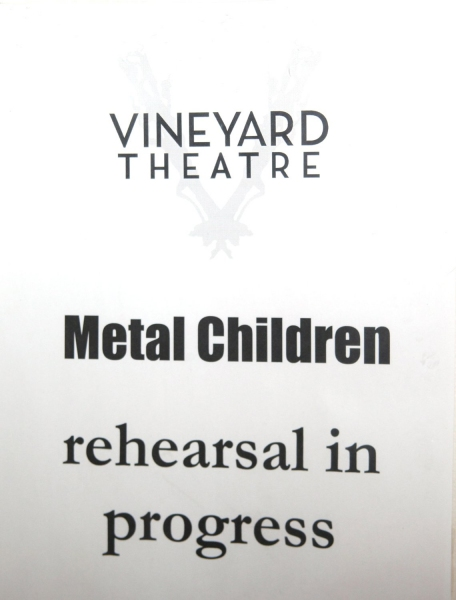 Photo Coverage:  THE METAL CHILDREN Meet the Press
