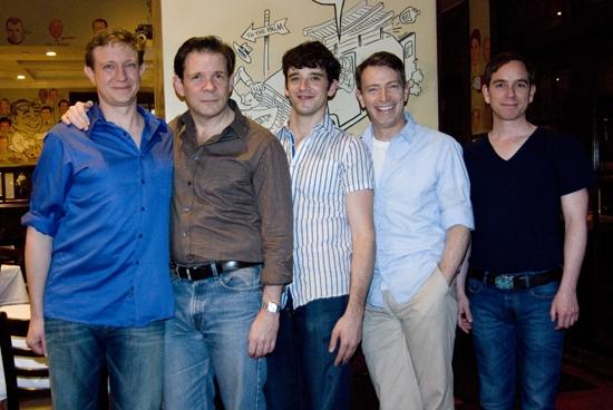 Matthew Schneck, Thomas Jay Ryan, Michael Urie, Arnie Burton, Sam Breslin Wright