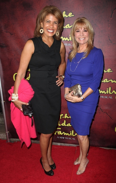 Hota Kotb and Kathie Lee Gifford at THE ADDAMS FAMILY Red Carpet