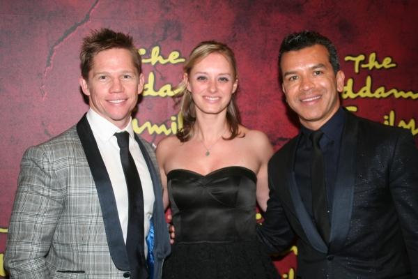 Jack Noseworthy, Dontee Kiehn and Sergio Trujillo