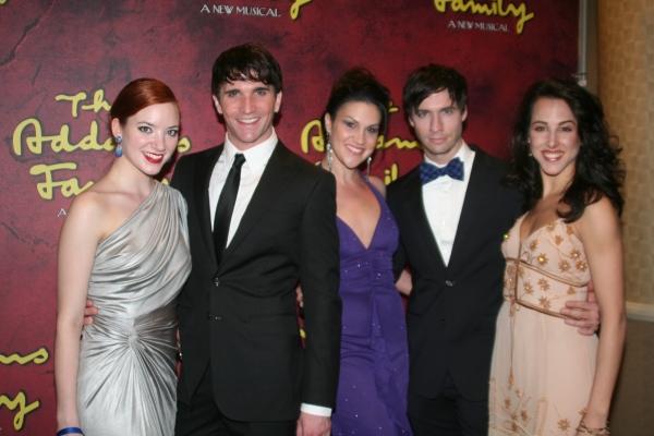 Samantha Sturm, Charlie Sutton, Alena Watters, Clark Johnsen and Jessica Lea Patty Photo