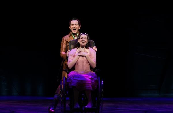 Alex Brightman and Jenny Fellner