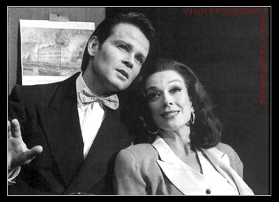 Dixie Carter in Pal Joey with Richard Byron - Photo by Craig Schwartz