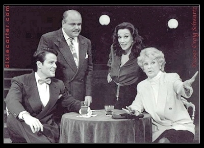 Dixie Carter in Pal Joey with Richard Byron and Elaine Stritch - Photo by Craig Schwartz