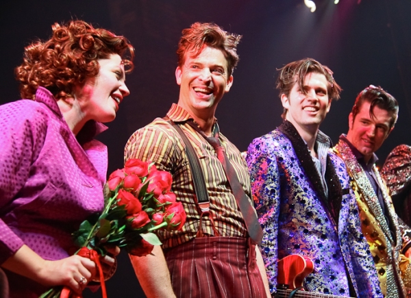 Photo Coverage: MILLION DOLLAR QUARTET Opens on Broadway
