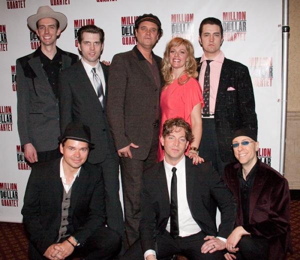 (top) Core Kaiser, Robert Britton Lyons, Lance Guest, Elizabeth Stanely, Eddie Clende Photo