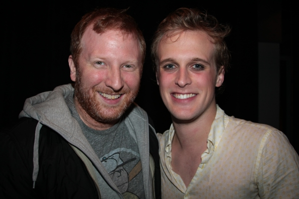 Hunter Bell with John Early Photo