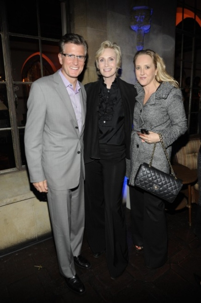 Kevin Reilly, President, Entertainment, FOX, Jane Lynch and 20TH Television's Jennifer Salke