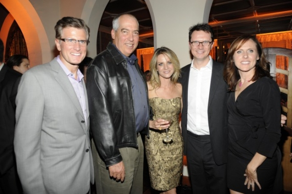 Kevin Reilly, President, Entertainment, FOX, Gary Newman, Chairman 20TH Television, Jessalyn Gilsig, Peter Rice, Chairman, Entertainment Fox Networks Group and Molly Shannon