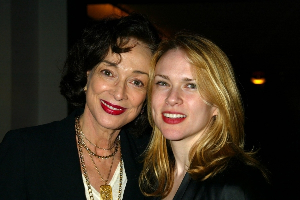Dixie Carter and her daughter Mary Dixie Kempf at the after party celebrating the Opening Night of BARBARA COOK'S BROADWAY. Party held at the Kaplan Penthouse at Lincoln Center in New York City. Sunday, March 28, 2004 © Joseph Marzullo / Retna Ltd.