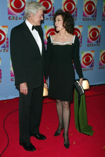 Dixie Carter and Hal Holbrook Attending CBS AT 75, a three hour entertainment extrava Photo