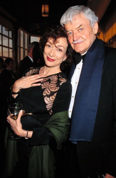Dixie Carter and Hal Holbrook National Corporate Theatre Fund Gala Chelsea Piers, NYC Photo