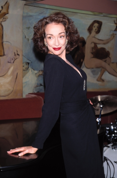 Dixie Carter At the Cafe Carlyle for her Cabaret Show NYC 2/15/1996 © Retna L Photo