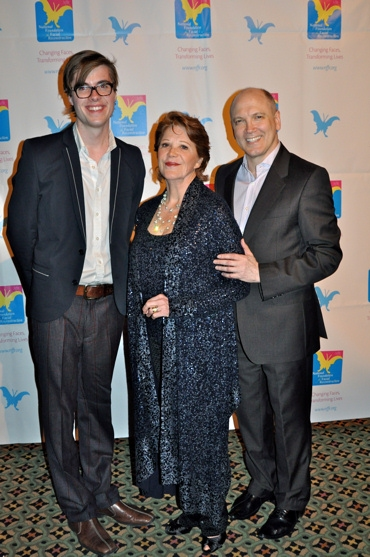 Jeffery Self, Linda Lavin and Charles Busch