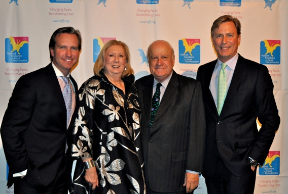 Dr. Douglas Steinbrech, Jane Friedman, Fred Whittemore, and Jeff Shap
