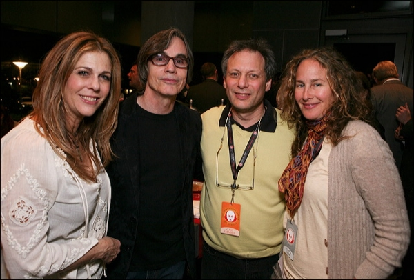 Rita Wilson, Jackson Browne, Director Ben Donenberg and Dianna Cohen