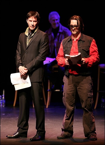 Keanu Reeves and Bronson Pinchot at Shakespeare Center Los Angeles Presents MUCH ADO ABOUT NOTHING