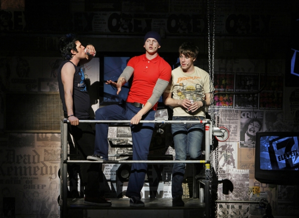 Photo Flash: AMERICAN IDIOT on Broadway - First Shots!
