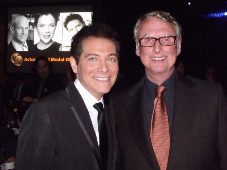 High Res Michael Feinstein and Mike Nichols