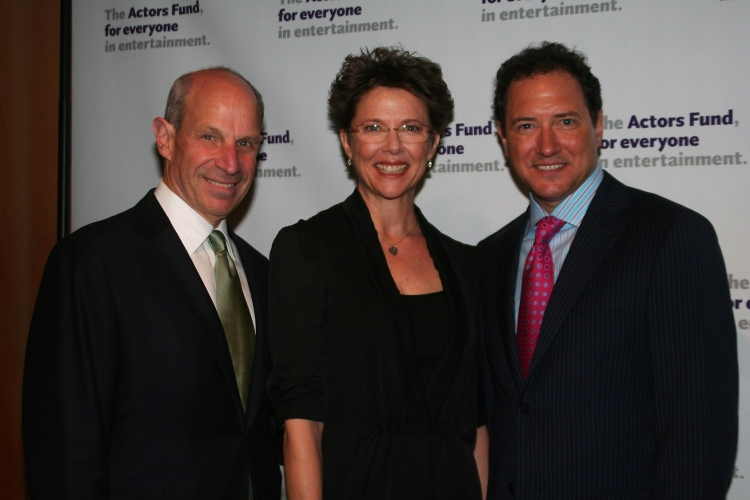High Res Jonathan Tisch, Annette Benning and Kevin McCollum