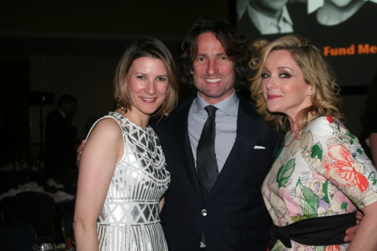 High Res Lizzie Tisch, Robert Godley and Jane Krakowski