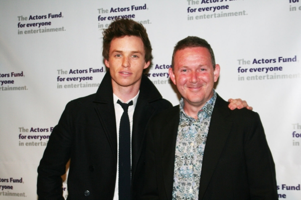 John Rogan and Eddie Redmayne