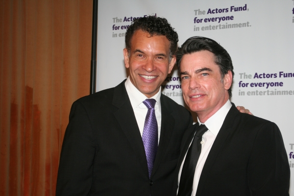 Brian Stokes Mitchell and Peter Gallagher