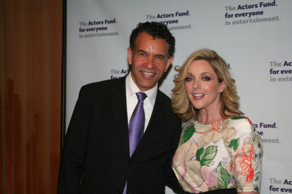 Brian Stokes Mitchell and Jane Krakowski