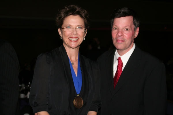 Annette Bening and Michael A. Kerker Photo