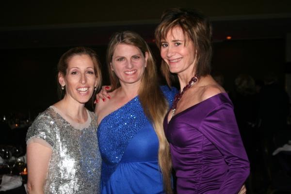 Liz Lewis, Bonnie Comley and Lee Fryd