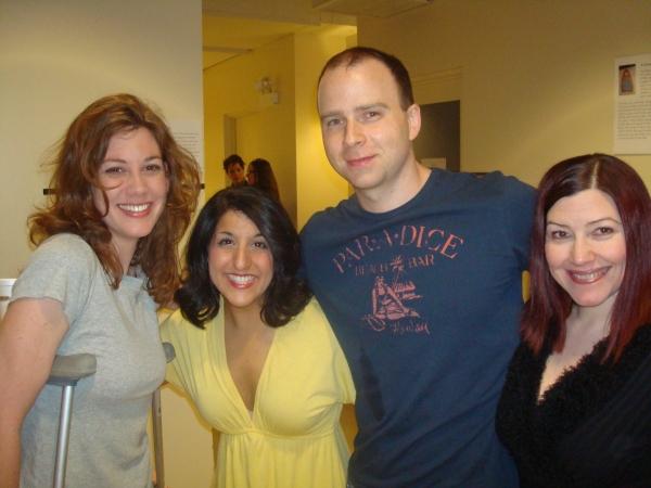 Maura Kidwell, Amy Malouf, Ryan Martin and Suzy Brack