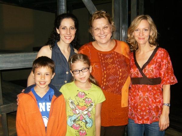 Joshua Hunter Magers, Amanda Grace, Katherine Jordan, Danon Dastugue and Joanie Rueschhoff