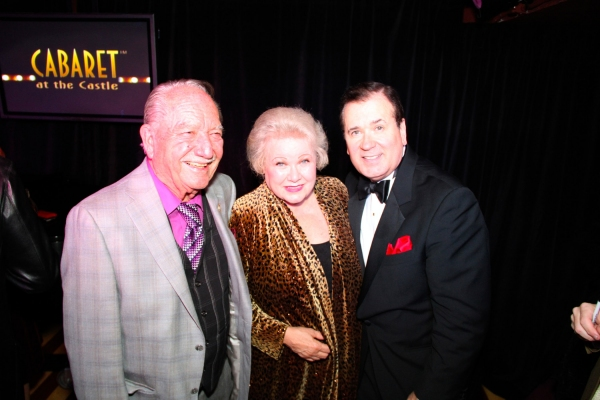 Milt Larsen and Irene Larsen with Lee Roy Reams