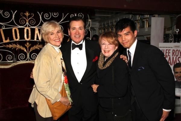 Karen Morrow, Lee Roy Reams, Nancy Dussault and Telly Leuoug