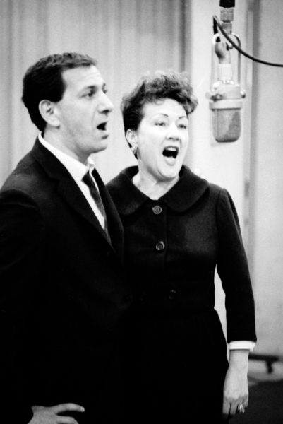 Ethel Merman,Jack Klugman - Photo: Vernon Smith