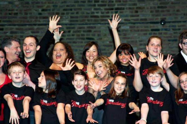 Pearl Sun, Jennifer Cody,  Natalie Douglas & Camp Broadway Kids at Stars Celebrate Launch of Camp Broadway's 15th Season