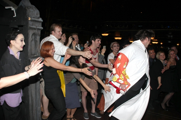 Photo Coverage: THE ADDAMS FAMILY Gypsy Robe Ceremony