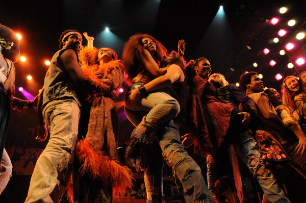 Photo Flash: HAIR Opens in the West End