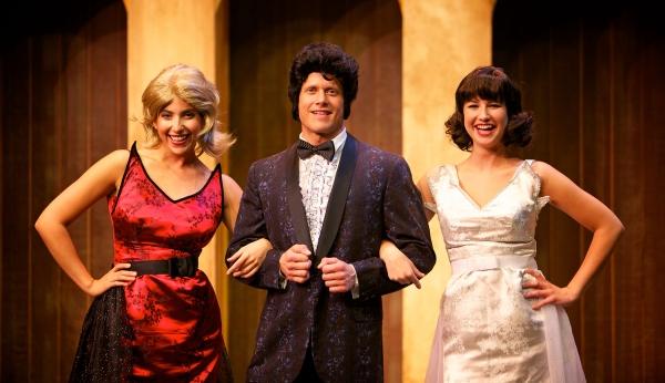 Andrea Mellos, Billy Konsoer and Katie Hardy