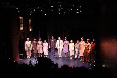 Photo Flash: Opening Night Of LANGSTON IN HARLEM