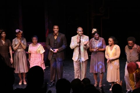 Photo Flash: Opening Night Of LANGSTON IN HARLEM