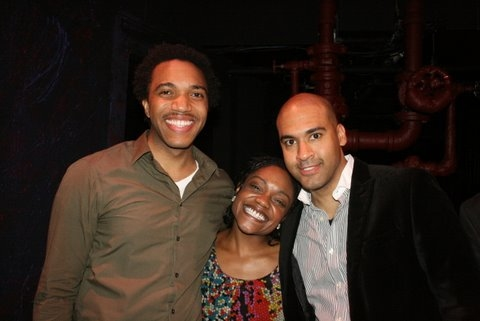 Jordan Barbour, Kenita Miller and Josh Tower Photo