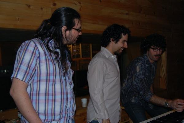 Arranger Jaime Lozano, Music Advisor Alex Lacamoire and Music Director Zach Dietz