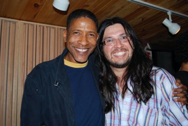 William Cepeda and arranger Jaime Lozano