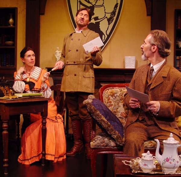 Jamee Vance as Beatrice Webb, Warren Kelley as Bernard Shaw, Marc Geller
