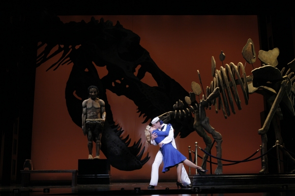 The Natural History Museum is an educational experience for Claire (Billie Wildrick) and Ozzie (Greg McCormick Allen) when science meets romance