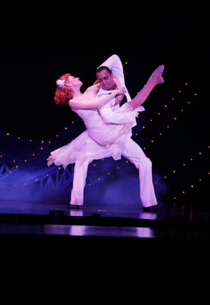 Sailor Gabey (Joe Aaron Reid) and Ivy (Courtney Iventosch) dance like a dream-or more specifically like a dream ballet