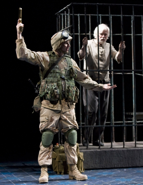 Brad Fleischer as Kev and Kevin Tighe as the Tiger