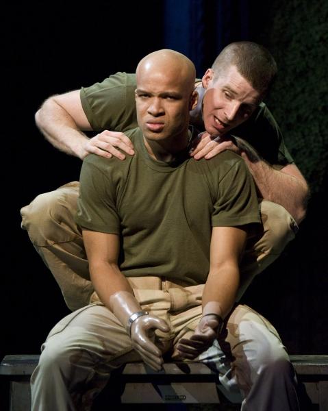 Glenn Davis as Tom and Brad Fleischer as Kev